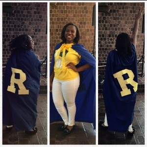 I have a cape. #OfficialDefenderOfAllThingsMeliora