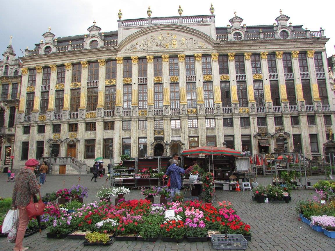 Grand Place in central Brussels