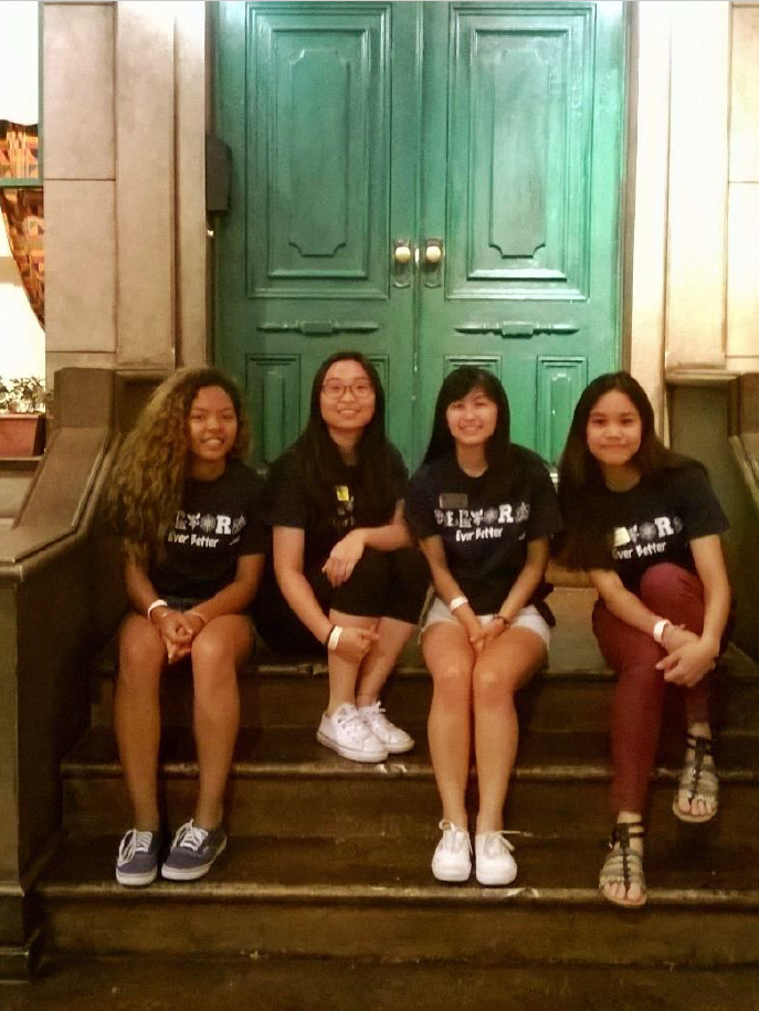 Pre-College Counselors (left to right) Kris, Jolena, Jasmine and Chantelle at Strong Museum of Play