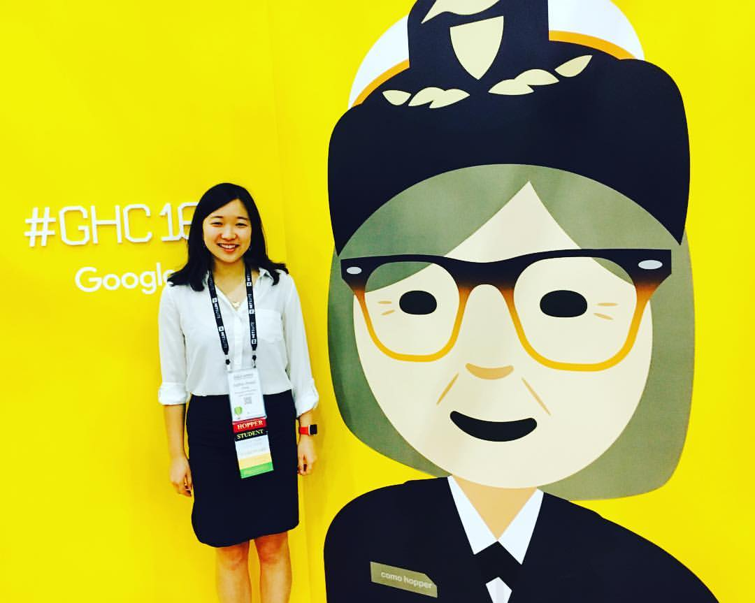 I was at Google booth during Grace Hopper Celebration 2016 Conference