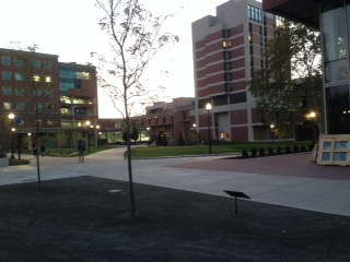 The new Hajim Quadrangle. This is where is have most of my classes!