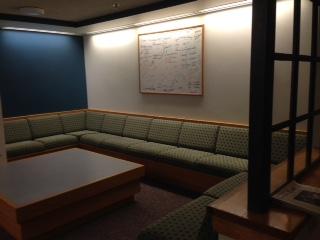 This is where the magic happens- Gilbert 3 Lounge!  (Magic= Homework)