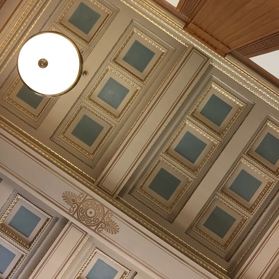 Rush Rhees Ceiling
