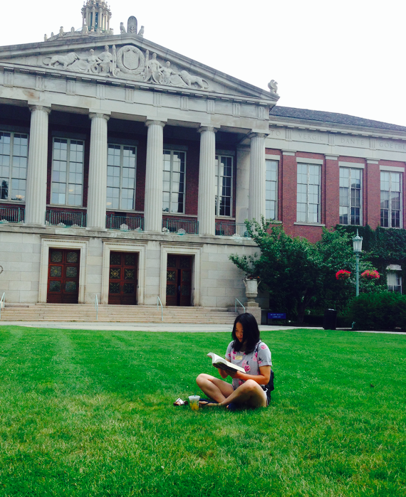 I was reading a book on academic quad during summer 2014