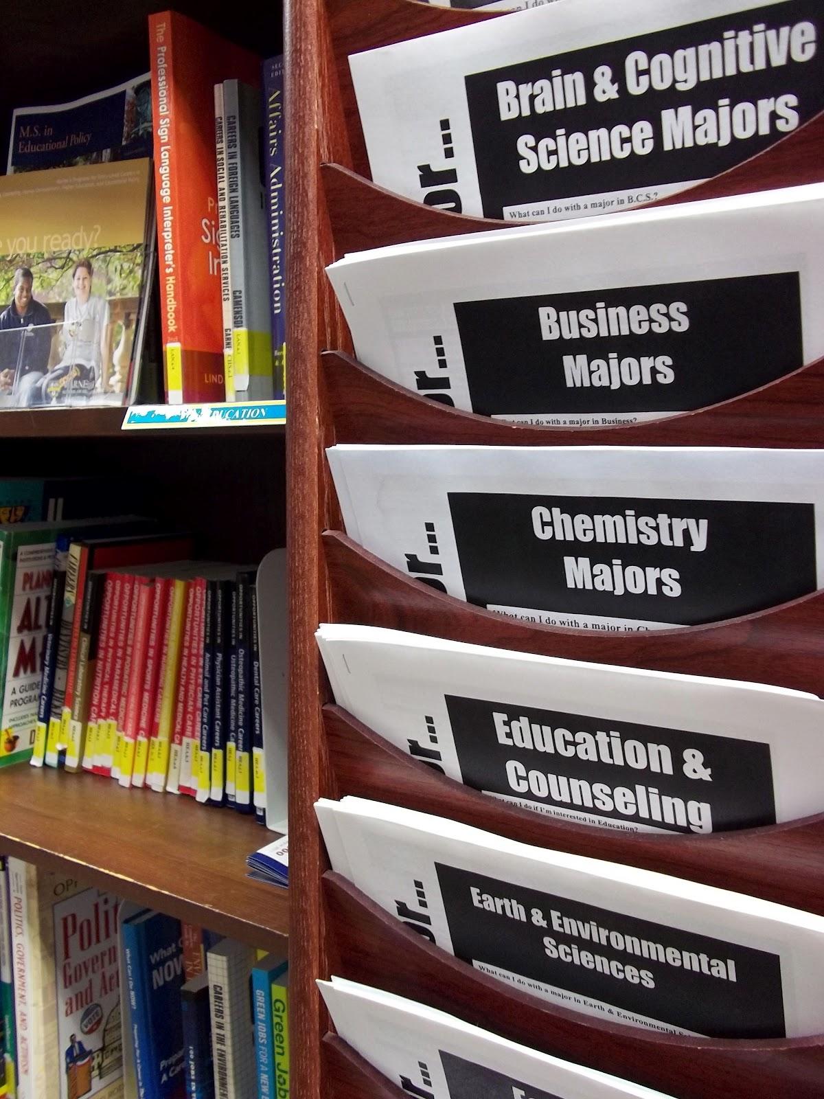 Career Center library