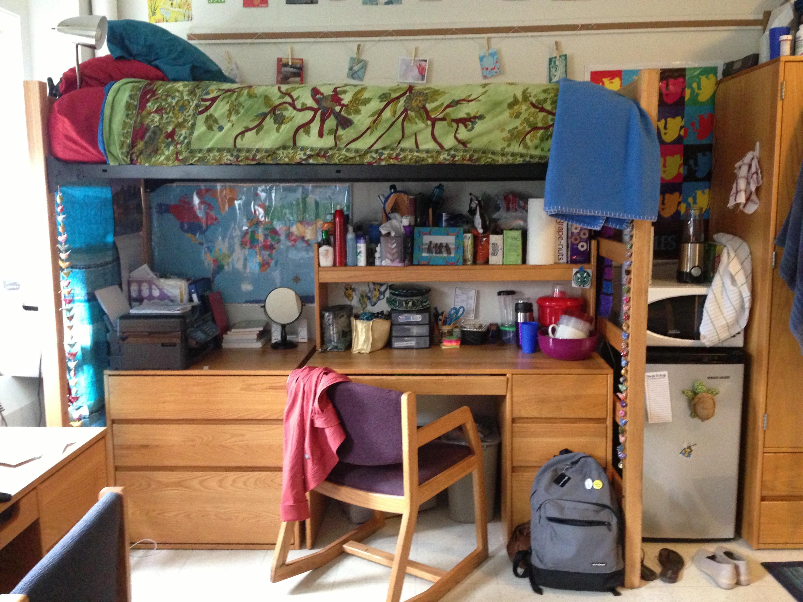 Freshman year dorm