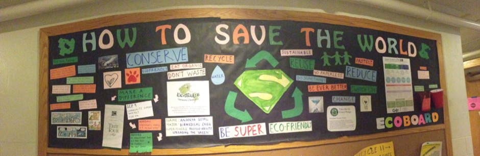 Creativity and Sustainability- my EcoBoard!