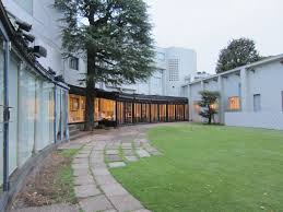 Beautiful garden of Hara Art Museum