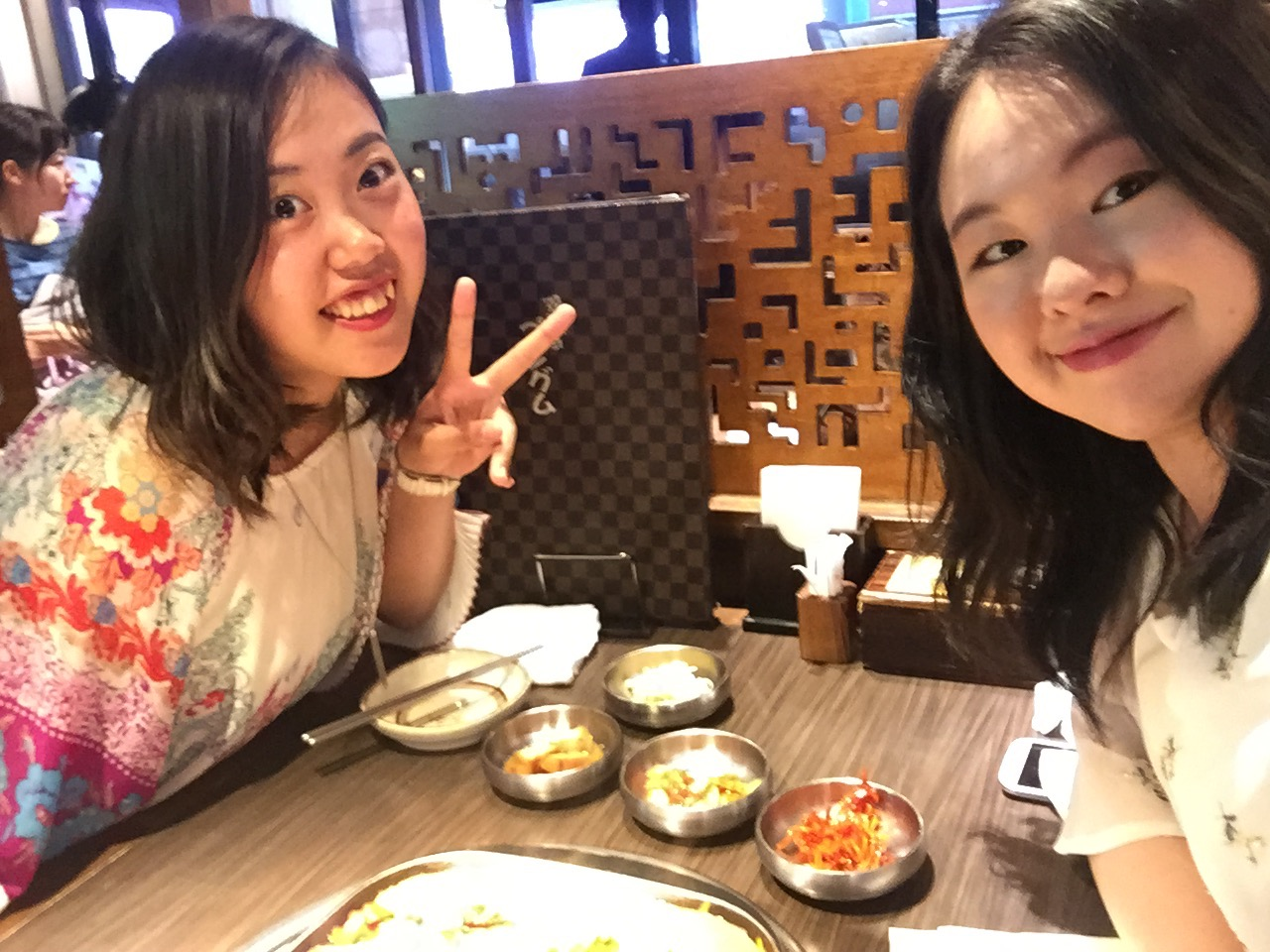 Dinner with Maiko!