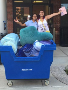 Move-in day!