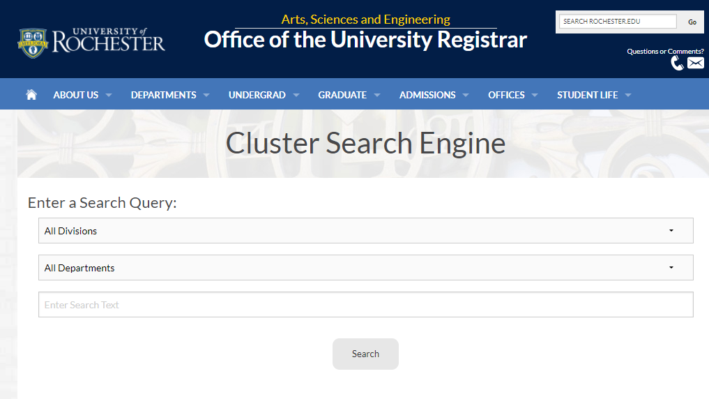 Cluster Search Engine