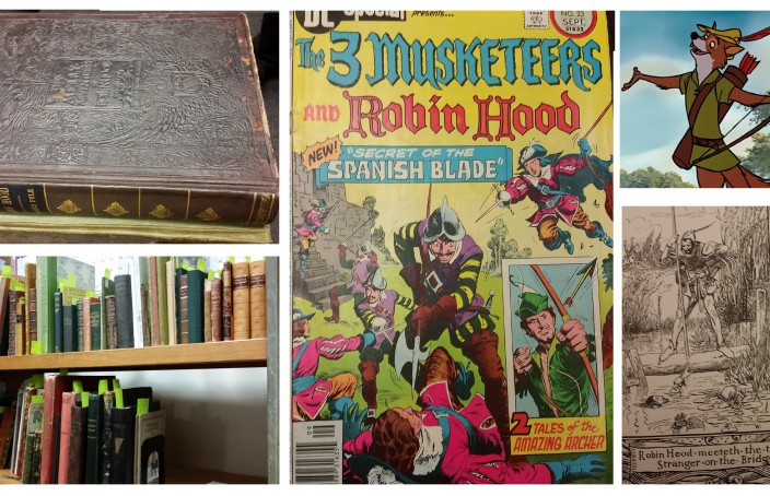 robin hood collage