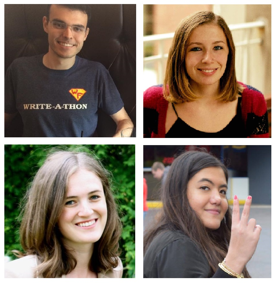 A few of our writing fellows!