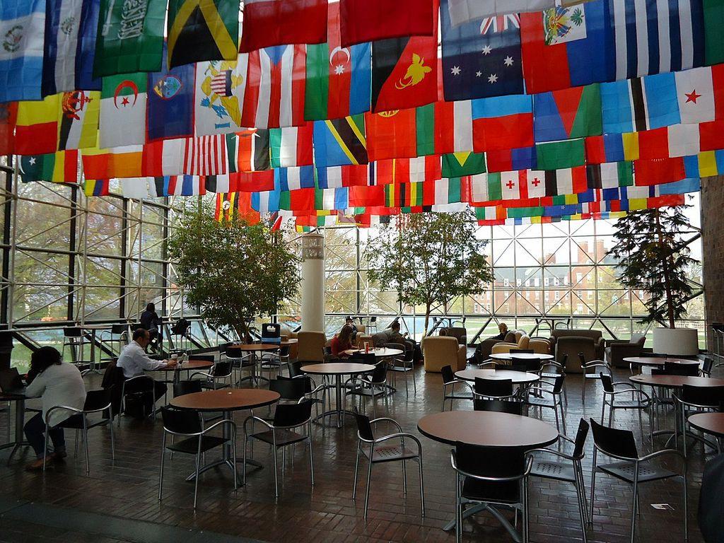 Flag Room in Wilson Commons