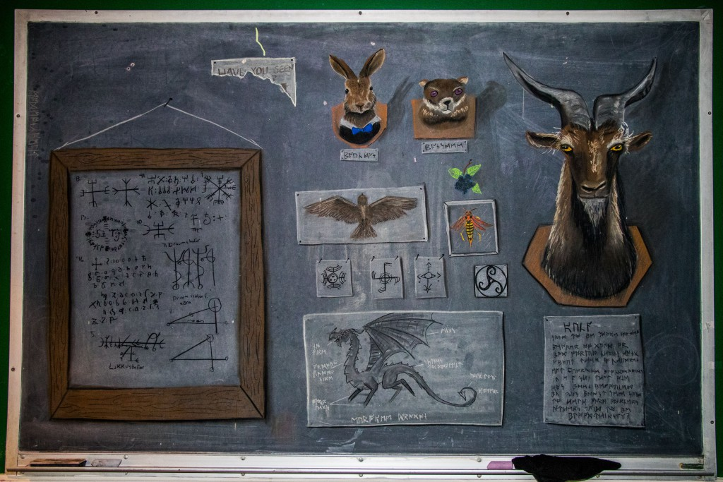 a drawing from the gallery of wildlife