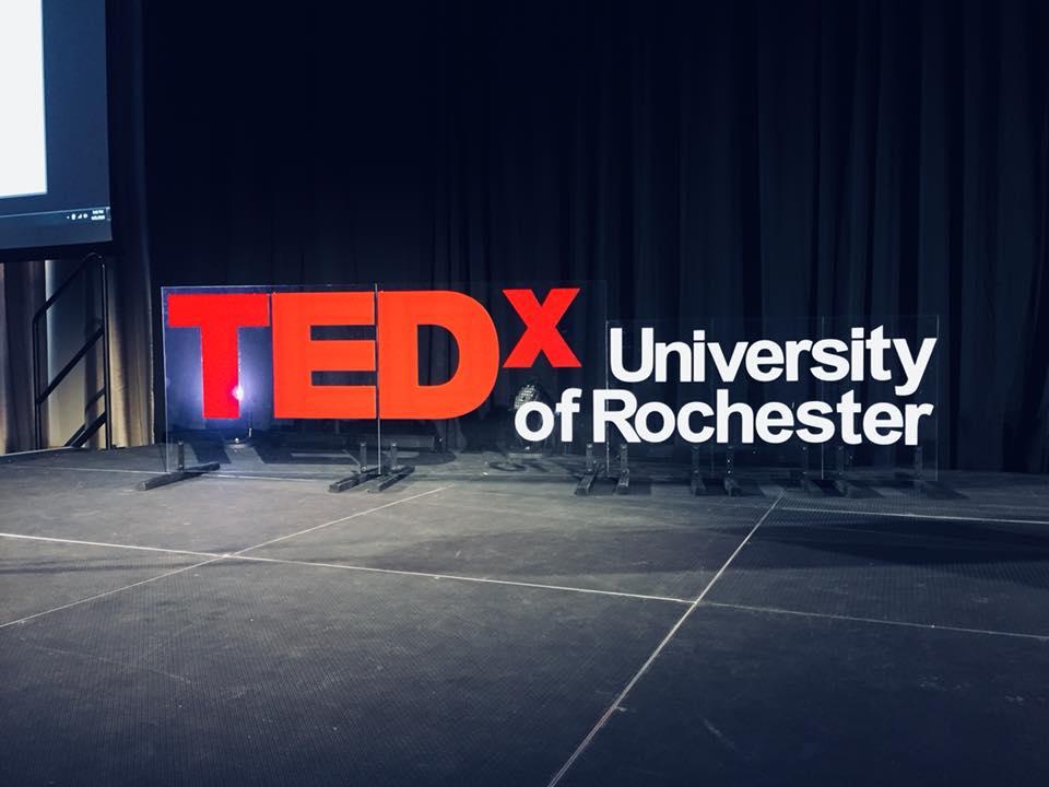 TEDx University of Rochester 2018.