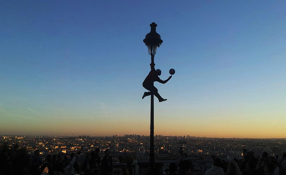 'An Unlikely Moon' by Casey Waldren '17, taken in Paris '15