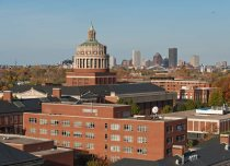 Skyline of City of Rochester and University of Rochester